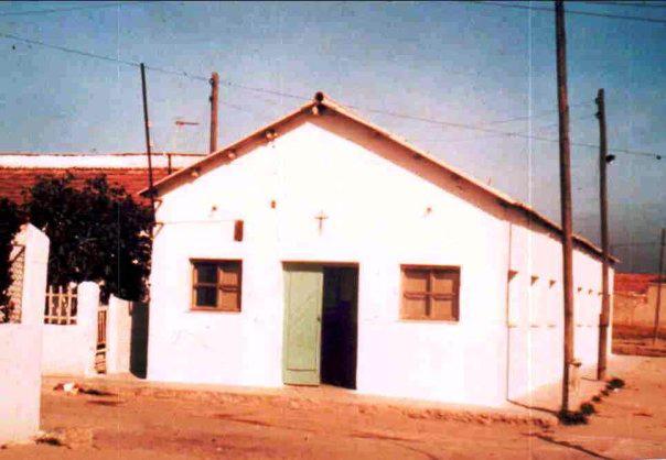 Entrada del barracón de San Alberto Magno